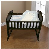 Baby Doll Bedding Royal Pique Port-a-Crib Bedding Set - Blue