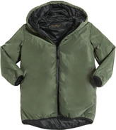 Finger In The Nose Hooded Padded Nylon Coat