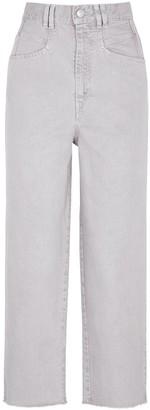 Isabel Marant Naliska Cropped Straight-leg Jeans
