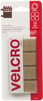 Velcro 90074 7/8-Inch Sticky Back Squares, 12-Pack