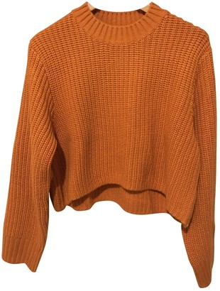 Weekday Orange Wool Knitwear for Women