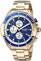 Tommy Bahama Men's Quartz Stainless Steel Casual Watch, Color:Gold-Toned (Model: TB00011-04)