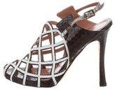 Derek Lam Python Cage Sandals