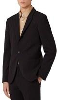 Topman Men's Skinny Fit Jersey Suit Jacket