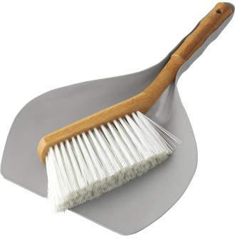 Cleansmart Earth Bamboo Dustpan/Brush Set