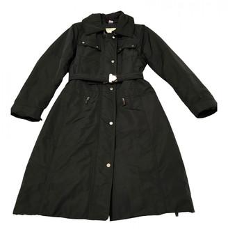 Henry Cotton Black Polyester Coats