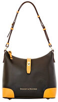 Dooney & Bourke Claremont Two-Tone Leather Hobo Bag