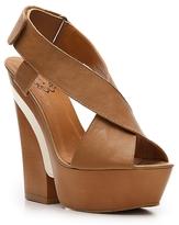 Krisscross Wedge Sandal