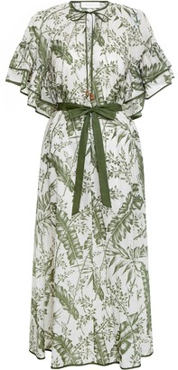 Zimmermann Empire Flutter Sleeve Dress