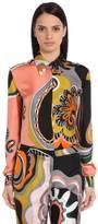 Emilio Pucci Printed Silk Shirt