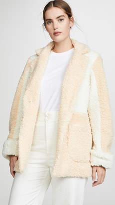 Wolly LAVEER Jane Colorblock Coat
