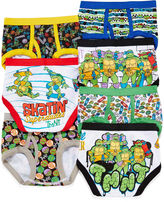 JCPenney LICENSED PROPERTIES Teenage Mutant Ninja Turtles 7-pk. Briefs - Toddler Boys 2t-4t