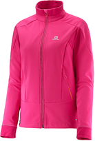 Salomon Yarrow Pink Momentum Softshell Jacket - Women
