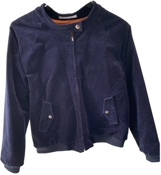 Peter Jensen Blue Cotton Jacket for Women