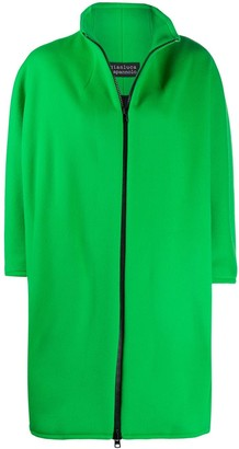 Gianluca Capannolo High Neck Fleece Coat