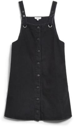 Armedangels Washed Down Black Dainaa Dress - Size M   black - Black/Black