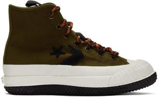Converse Khaki Bosey MC High-Top Sneakers