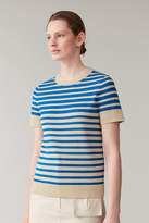 Cos STRIPED KNITTED TOP