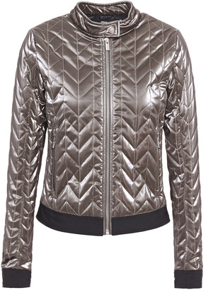 Fusalp Quilted Metallic Shell Jacket