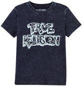 True Religion Washed Down Tee Shirt (Toddler/Kid) - Midnight - 7