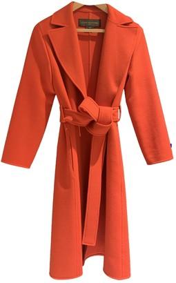 Louis Vuitton Red Cashmere Coats
