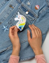 Orelia Emboidered Unicorn Patch Pack