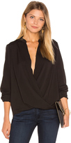 BCBGeneration Surplice Blouse