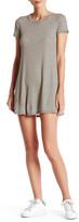 Blu Pepper Short Sleeve Striped Dress