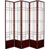 Oriental Furniture Best Quality Partition, 84-Inch Eudes Room Divider Japanese Shoji Floor Screen