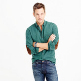 J.Crew Slim cotton-wool elbow-patch shirt in solid