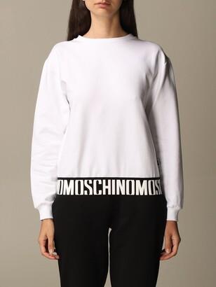 Moschino Crewneck Sweatshirt With Logo