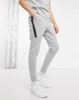 Nike Tech Fleece Jogger In Gray 805162