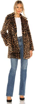 Amuse Society Vera Faux Fur Coat