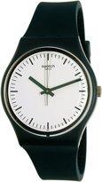 Swatch Women's Originals GG222 Teal Rubber Swiss Quartz Watch