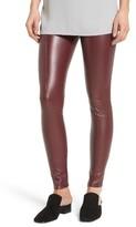 Lysse Women's High Waist Faux Leather Leggings