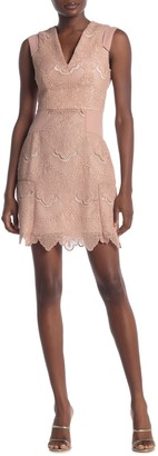 Reiss Gemina Fit & Flare Dress
