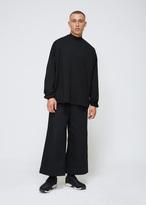 SASQUATCHfabrix. Black Mock Neck Long Sleeve Tee