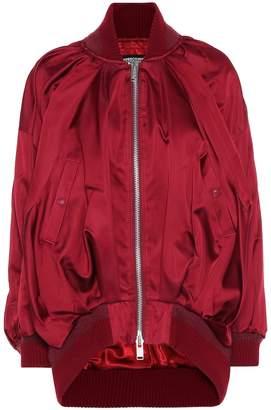 Undercover Silk-satin bomber jacket