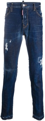 DSQUARED2 Sexy Mercury distressed jeans