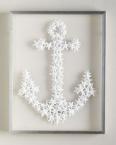 Horchow Karen Robertson Collection Starfish Anchor Wall Decor