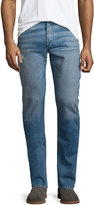 Rag & Bone Standard Issue Fit 2 Mid-Rise Relaxed Slim-Fit Jeans, Clean Ludlow