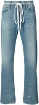 Off-White baggy distressed jeans - men - Cotton/Wool/Polyacrylic - 31