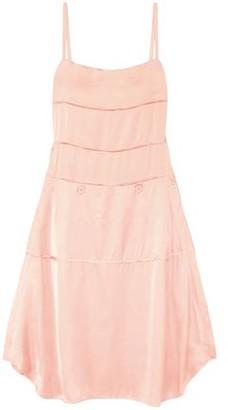 Carven Satin Midi Slip Dress