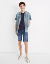 """Madewell 9"""" Denim Shorts in Crestwood Wash"""