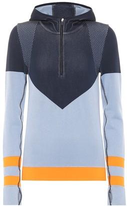 Tory Sport Chevron Seamless hoodie