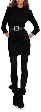 BA&SH ba & sh Winnie Mini Sweater Dress