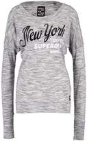 Superdry MAIDEN Long sleeved top state charcoal