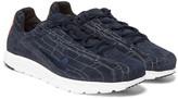 Nike - Mayfly Premium Printed Suede Sneakers