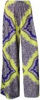 WearAll Plus Size Women's Palazzo Trousers - US 16-18 (UK 20-22)