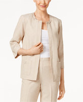 Alfred Dunner Ladies Who Lunch Embellished Jacket